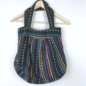 Vintage | Tribal Print Boho Shoulder Bag